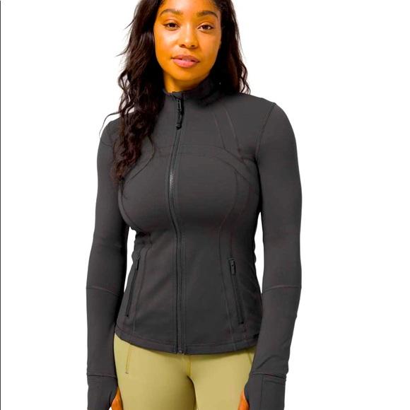 Lululemon Define Jacket Charcoal Grey
